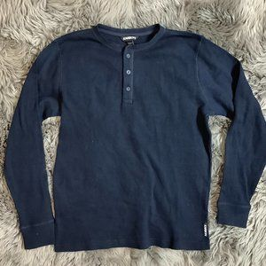 Karbon | Men's Long Sleeve Shirt | Navy